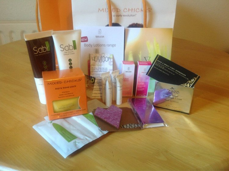 Essex Bloggers Goody Bag