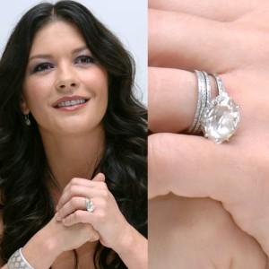 Catherine Zeta-Jones Engagement Ring