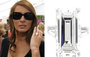 Melania Knauss Engagement Ring