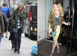 fearne-cotton-nicola-roberts-camo-camoflage-jacket-military-aw12-trends-cheap-high-street-celebrity