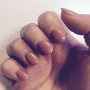 acylic-short-nails